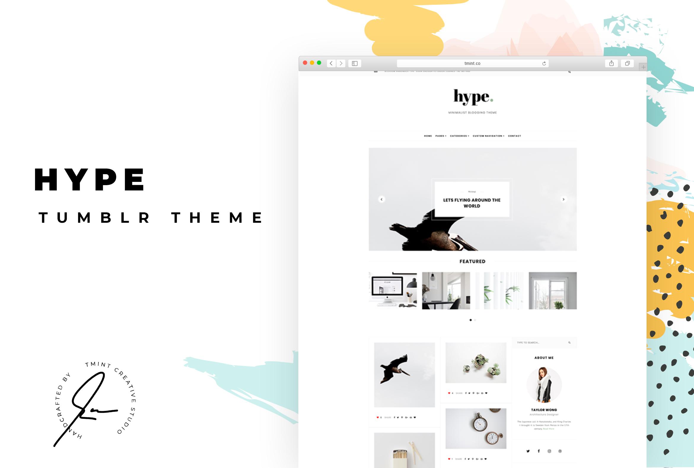 Hype Tumblr Theme   TMint